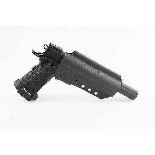 Deadly Customs Hi Capa Universal Suppressor Kydex Holster Black