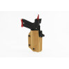 ACTION ARMY AAP-01 Kydex DC 3 Series Light Bearing Holster Tan