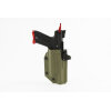ACTION ARMY AAP-01 Kydex DC 3 Series Light Bearing Holster Olive Drab / Green / ODG