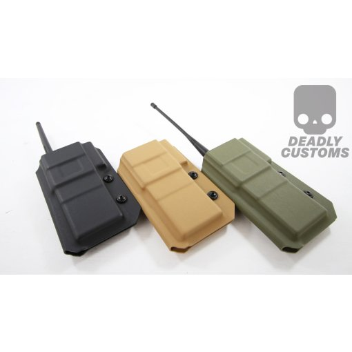 Baofeng UV5R Extended Battery Radio Kydex Holster