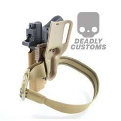 Deadly Customs Quick Locking System QLS Tan