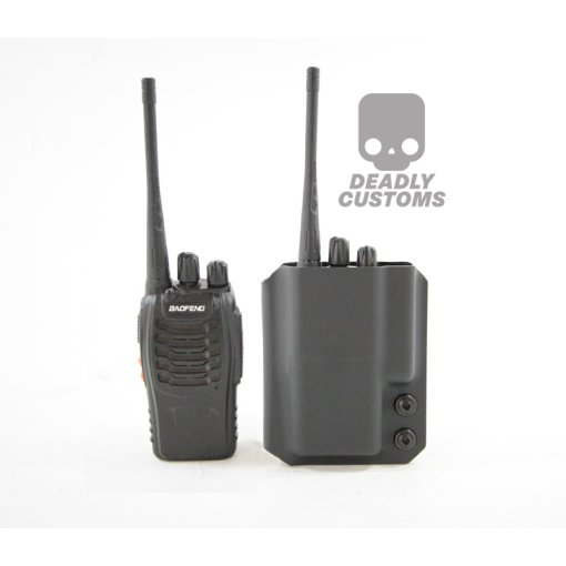 Deadly Customs Baofeng BF-888s Radio Kydex Holster