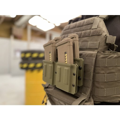 Deadly Customs Quad Stack M4 5.56 Magazine Holster